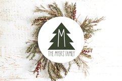 Peace Trees - Decorative Christmas Font Product Image 4