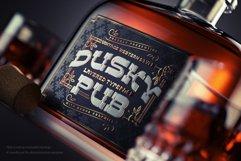 Dusky Pub - Font, Mockup, Label! Product Image 4