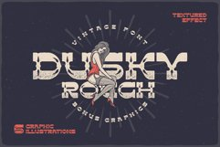 Dusky Rough - font and graphics Product Image 1