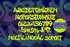 Derans Vandals - Spectacular Graffiti Font Product Image 2