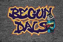 Derans Vandals - Spectacular Graffiti Font Product Image 3