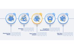 AI application 2 vector infographic template Product Image 1