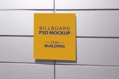 Billboard Mockup on Building - 5 PSD Templates Product Image 5