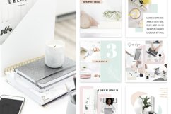 Canva Instagram Templates Pastel Product Image 3
