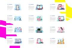 Update! Bundle 77 Pack Flat illustration PPT Product Image 4