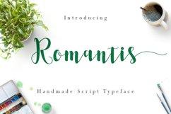 Romantis Script Product Image 1