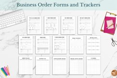 Best Seller Business and Life Weekly Planner Printable PDF Product Image 3