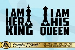 Queen SVG King SVG Valentines Day Tshirt SVG Love Quotes SVG Product Image 3