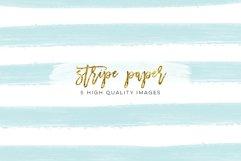 Stripe Confetti Gold Paper Texture, mint Stripe Paper Texture, pink gold Stripe Confetti Paper, Cream paper, printable paper, party supplies Product Image 2
