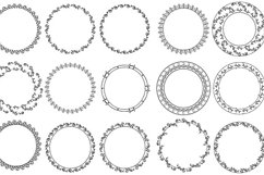 20 wreaths PNG + EPS Product Image 2