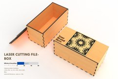 Box- laser cutting file Product Image 3