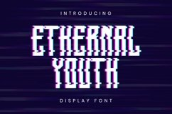 Web Font Ethernal Youth Font Product Image 1