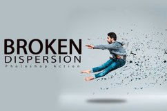 Broken Dispersion Photoshop Action Product Image 1