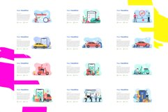 Update! Bundle 77 Pack Flat illustration PPT Product Image 5