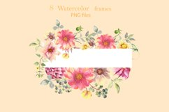 Watercolor frames Product Image 6