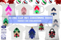 Christmas Trees Sublimation Clip Art Product Image 2