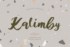 Kalimby - Handwritten Script Product Image 1