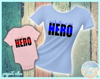 My Brother Is My Hero Quote Svg Dxf Eps Png Pdf Product Image 2