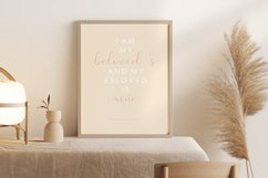 Scripture wall print, Bible verse, Love verse poster Product Image 3