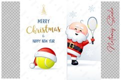 Merry Christmas and Happy New Year. Tennis. Product Image 2
