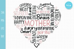 Mother Svg, Mom Quotes Svg, Mother's Day Svg Product Image 4