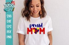 Proud Autistic Mom SVG / Mom SVG / Autistic SVG Product Image 1