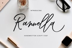 Ranuella Script Product Image 1
