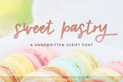 Sweet Pastry Font Product Image 1