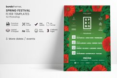 Spring Festival Flyer Template Product Image 5