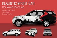 Sport Car Mock-Up Product Image 1