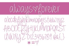 Always Forever Font Family Product Image 2