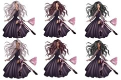Halloween Characters Clipart, Halloween PNG File Product Image 4