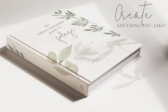 Foliage and Foil Botanical Clipart Product Image 6