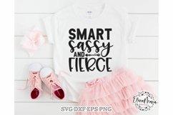 Sassy Toddler Girl Svg Bundle   Shirt Bundle   Mom Cut File Product Image 4