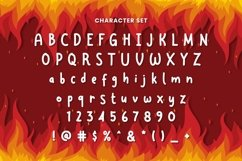 Web Font Redfire Product Image 3
