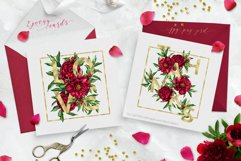 Peony inspiration - watercolor set Product Image 6