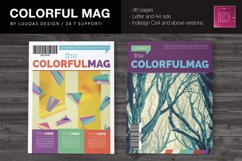 Colorful Indesign Template Product Image 2