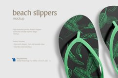 Beach Slippers Mockup Product Image 5