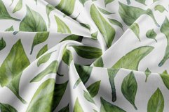 Jasmine flowers and leaves. Watercolor clip art. Product Image 6