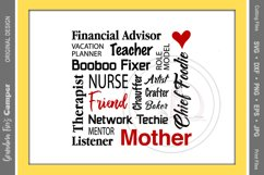 Mother's Day SVG Bundle, Vol 2 Product Image 5