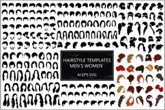 Male and female hairstyles templates Product Image 1