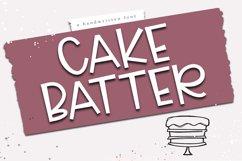 Cake Batter - A Handwritten Font Product Image 1