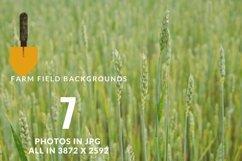Farm field digital background Product Image 2