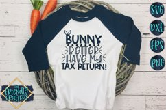 Bunny Better Have My Tax Return - An Easter Cut File Product Image 1