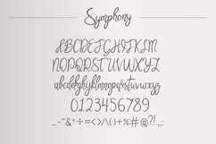 Symphony. Handycrafted font Product Image 2