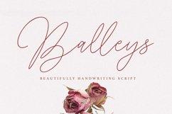 Balleys Beautiful Handwriting Script Font Product Image 1