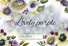 Lovely purple Product Image 1