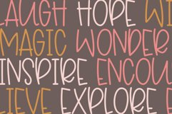 Sparkly - A Fun Handwritten Font Product Image 4