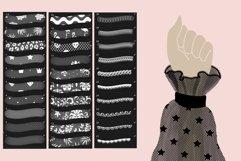 Lace pattern procreate brushes Product Image 4