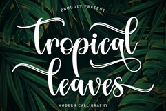 Tropical Leaves Product Image 1